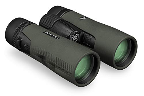 Vortex DB-215 Optics Diamondback HD - Prismáticos (10 x 42), Color Negro