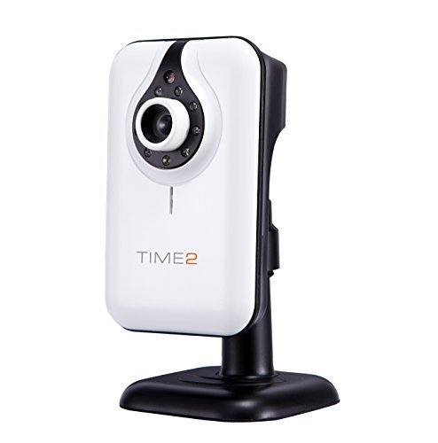 Time2 1280 x 720 bambino / obiettivo Animali domestici / Casa Monitor Wireless / Wired IP con messa a fuoco regolabile per sicurezza domestica Video Recording