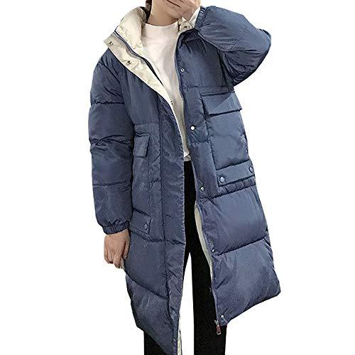 nobrand capuchon dames mantel lange mantel parka oversized kleur jas midden lange vrouwen winter dikke jas donsjas vrouwen winter