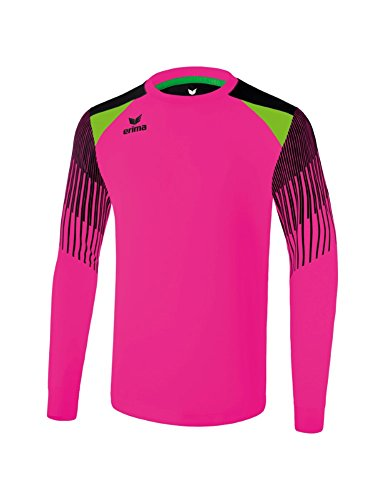 Erima Herren Fußball Torwarttrikot Elemental, pink/Schwarz, L