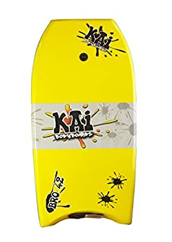 Kai Bro Bodyboard  Choose Color & Size   Yellow  Light Blue Rails  22