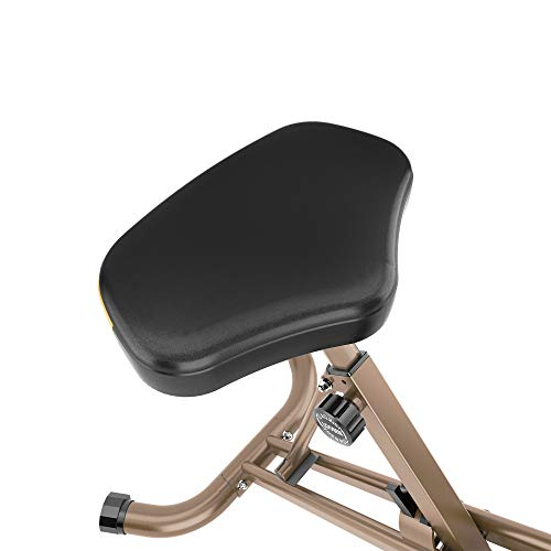 Product Image 4: Exerpeutic Gold Heavy Duty Foldable Exercise Bike with 400 lbs Weight Capacity