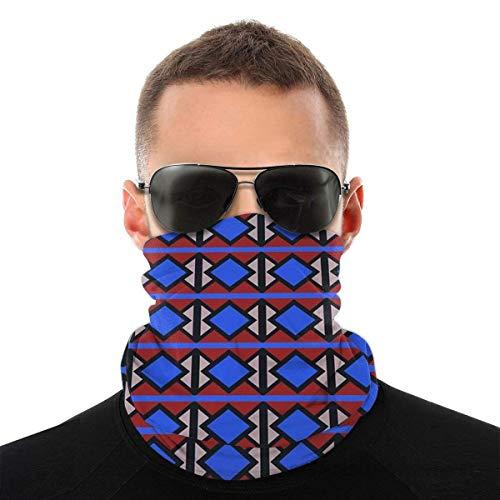 Mike-Shop Old Victoria Line Moquette Halswärmer Halsgamaschen Gesichtsschalwärmer Weiche Sturmhaube Schal Gesichtsschutz mit 6 Filtern