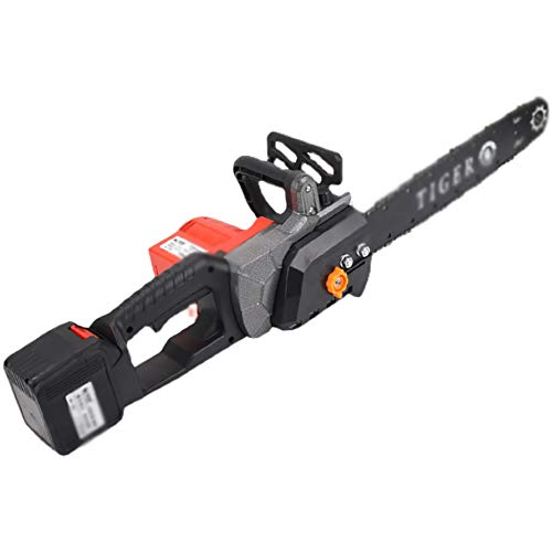 IRi Mini Chainsaw, Cordless Electric Portable Battery Chain Saw with Batteries & Chain Brushless Motor, 42V Electric Hand Chainsaw, Lightweight, Electric Saws for Cutting Wood