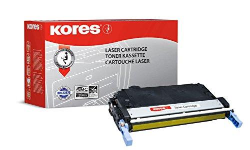 Kores Tonerkartuschen für Modell Color Laserjet 4700, 10000 Seiten, gelb
