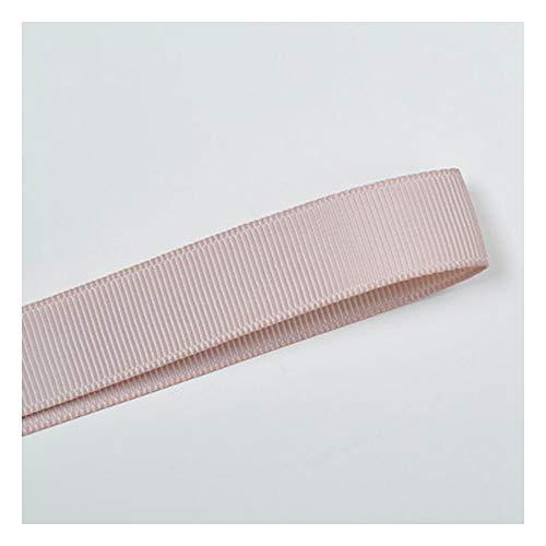 JIWEIER Accesorios de Ropa para el hogar Material de decoración Cinta de la Costilla de poliéster de 9mmdiy Accesorios para el Cabello Accesorios Marrón Fuentes de Costura de Bricolaje (Size : 813)