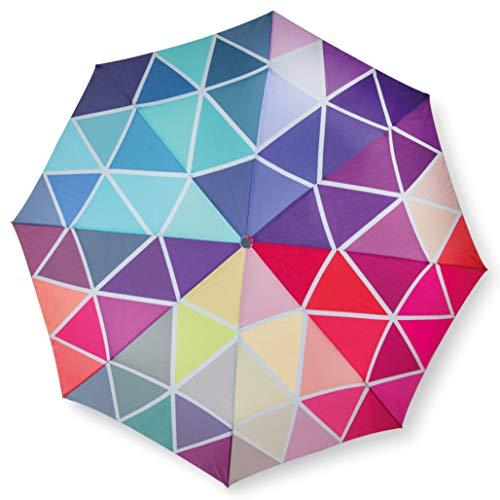 Remember Unisex– Erwachsene Babette Taschenschirm, Bunt, geschlossen 29 cm, Ø 5,5 cm. Maße geöffnet: Länge 58 cm, Ø 100 cm