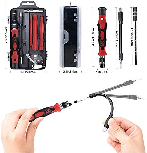 Prime Deals 115 in 1 Interchangeble Multipurpose Mini Screwdriver Set Magnetic Slot Wrench Bits Repair Tools Kit Set Combination Screwdriver Set for Home Appliance,Laptop,Mobile,Computer