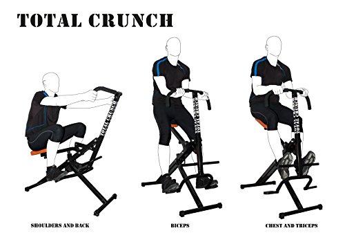 1. Total Crunch Máquina de Ejercicios Muscular Fitness