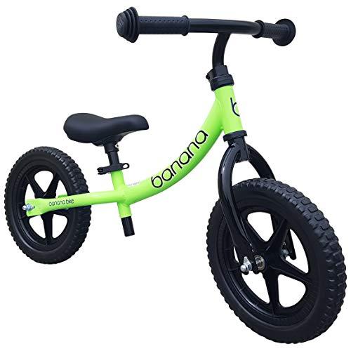 Banana Bike LT – Bici Senza Pedali Leggera - Bicicletta per Bambini - 2, 3 e 4 Anni (Verde)