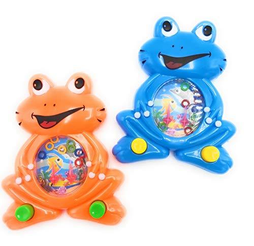 6 Geduldspiele mit Wasser gefüllt Frosch Mitgebsel Kindergeburtstag Tombola