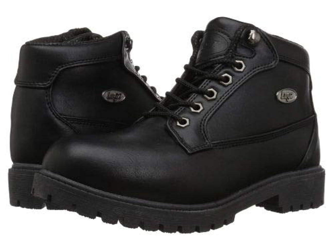 バンク優先権作業Lugz(ラグズ) レディース 女性用 シューズ 靴 ブーツ レースアップブーツ Mantle Mid - Black [並行輸入品]