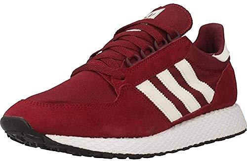 adidas Forest Grove, Scarpe da Fitness Uomo, Rosso (Rojo 000), 40 2/3 EU