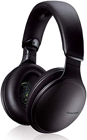 Panasonic Noise Cancelling Over The Ear Headphones with Wireless Bluetooth Alexa Voice Control product image