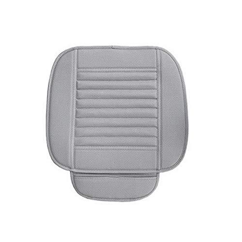 Cubiertas de asiento de automóvil PU estera del cojín for la silla de auto del asiento de coche universal de la primera fila de cubierta de asiento Sin Fundido transpirable Cojín Accesorios for automó