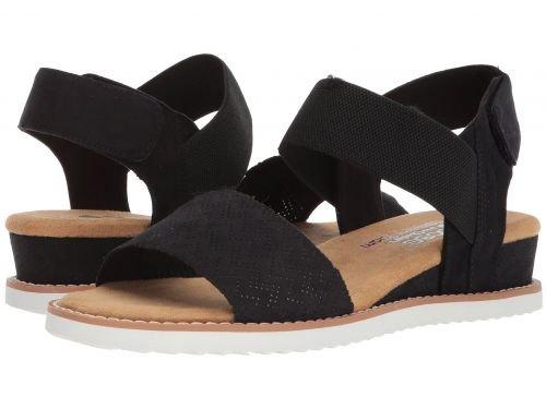 [ボブス スケッチャーズ] レディース 女性用 シューズ 靴 サンダル Desert Kiss – Black 10 B – Medium [並行輸入品]
