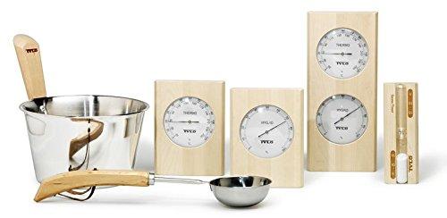 Preisvergleich Produktbild Hygrometer / Thermometer aus der Saunazubehörserie Birke von Tylö