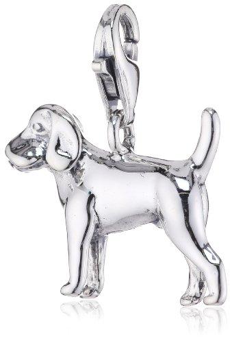 Thomas Sabo Damen-Charm-Anhänger Hund Charm Club 925 Sterling Silber 0482-001-12