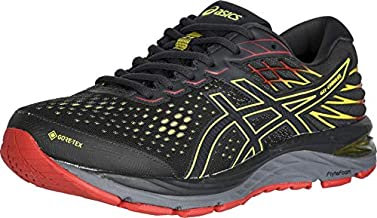 ASICS Men's Gel-Cumulus 21 G-TX Running Shoes, 11, Graphite Grey/Sour Yuzu