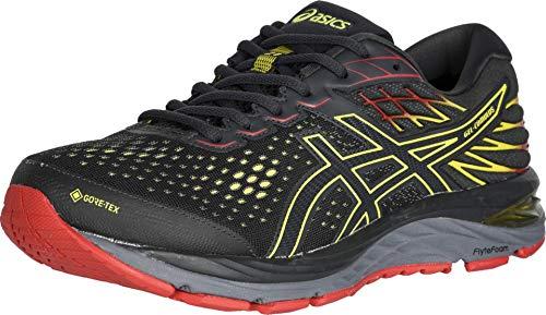 ASICS Men's Gel-Cumulus 21 G-TX Running Shoes, 11M, Graphite Grey/Sour Yuzu
