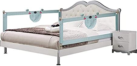 Bed Rail for Toddlers Extra Long Bed Rail Guard Bed NO Gap Bedrail Safety Guard Rail for Queen & King Size Mattress Extra Tall 59