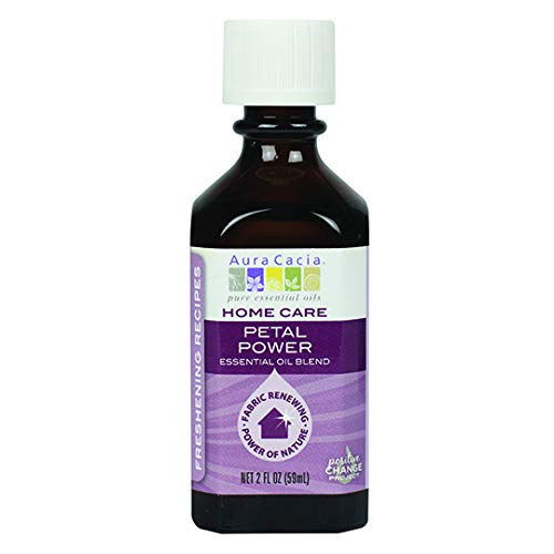 Aura Cacia Petal Power Essential Oil Blend for Home Care | 2 fl. oz.