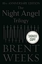 The Night Angel Trilogy (Way of Shadows) Brent Weeks (SIGNED BOOK) 11/13/18
