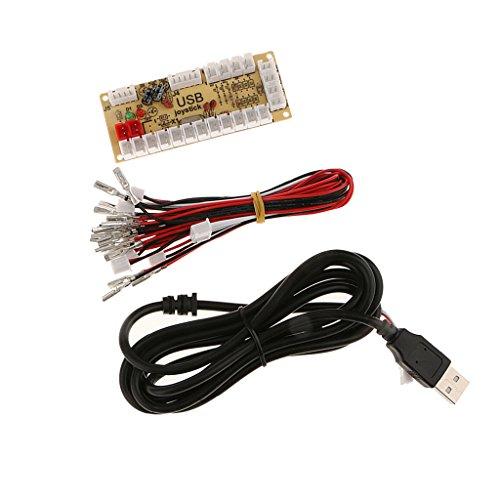 dailymall Null Verzögerung Arcade Game Controller USB Encoder PC Zu Joystick Für Raspberry Pi 1/2/3 Retropie Projekte SANWA Parts