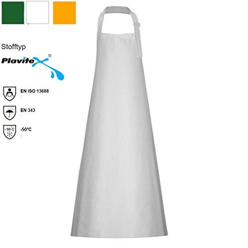 Gummischürze aus PVC Plavitex 120 x120 cm weiß