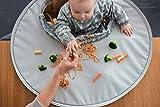 Kit bandeja y babero Tidy Tot. De 6 a 24 meses. Alimentación complementa. (Gris...