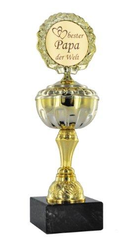 Pokal Bester Papa der Welt - 23,8 cm