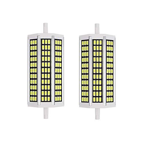 YQGOO Bombillas LED de Doble Extremo Tipo J de 135 mm, Bombilla LED R7S de 15 W (Repuesto de Bombilla halógena J135 de 150 W), para lámpara de pie de luz de Techo (Paquete de 2)