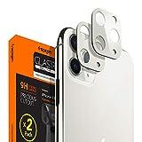 Spigen Camera Lens Screen Protector [Glas.tR Optik] designed for iPhone 11 Pro / iPhone 11 Pro Max - Silver [2 Pack]