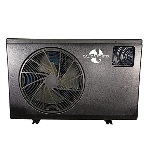 well2wellness Full-Inverter Wärmepumpe Calida.Fortis 7 bis 6,80 kW inklusive WiFi-Adapter + Abdeckplane