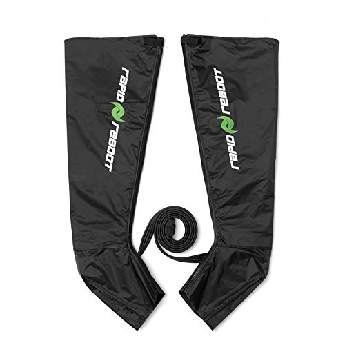 Rapid Reboot Boots: Compression Boots Compatible with Pump. Sequential, Dynamic air Compression for Massage Therapy, Improved Circulation and Faster Workout Recovery for All Athletes (Short)
