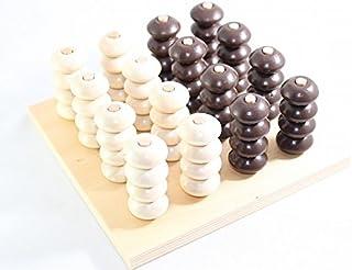 モンテッソーリ 木製ビーズさし Wooden Stacker Montessori 知育玩具