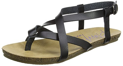 Blowfish Damen Granola Sandalen, Schwarz (Black), 36 EU (3 UK)