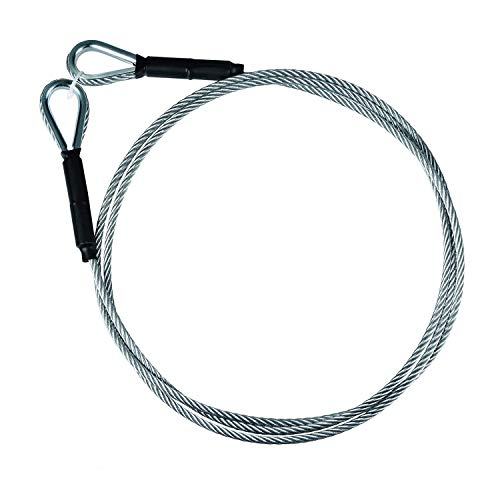 Zip Line Sling Cable, Wire Rope, 8/11/14 Foot, 3/16In (8 Foot)