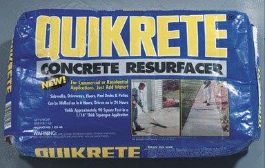 Quikrete Concrete Resurfacer 6 Hr 40 Lb