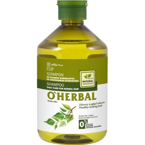 Elfa Pharm O''herbal Herbes Shampoing cheveux normaux 0% Paraben SLS 500 ml