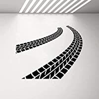 ウォールステッカー壁画クラシックアートデカールビニールウォールステッカータイヤドライバーガレージデコレーションステッカー壁画子供室青少年防水ウォールステッカー71x57cm