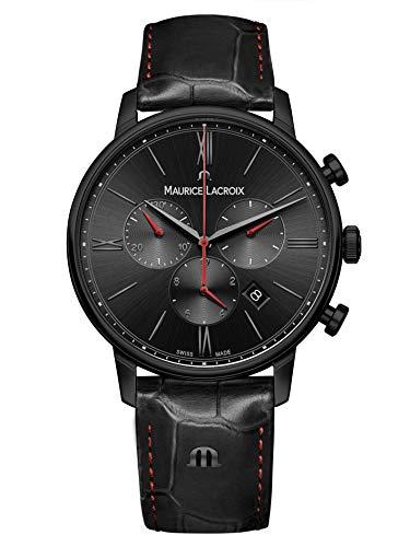Maurice Lacroix herenhorloge Eliros chronograaf 40mm - EL1098-PVB01-310-1