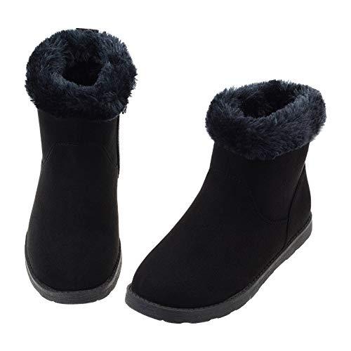 Columbia Girls Rope Tow III Waterproof Faux-Fur Boot Snow, ti Grey Steel/red Canyon, 3 Big Kid