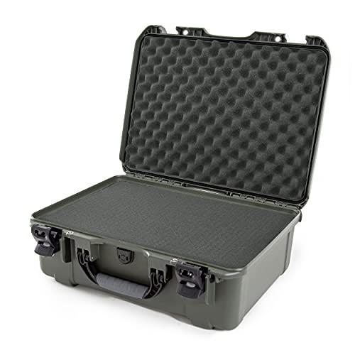 Nanuk 940 Case with Cubed Foam (Olive)