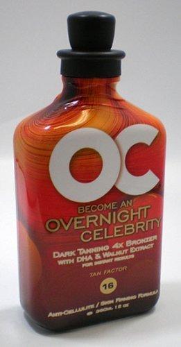 OC Overnight Celebrity Tanning Lotion - New 12oz bottle