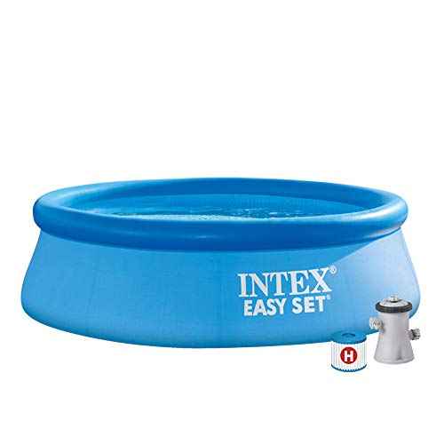 INTEX - Kit piscinette Easy Set gonflable 2,44 x 0,76 m