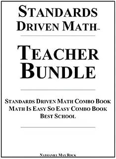 معايير الشغوفين Math Teacher حزمة: معايير الشغوفين Math كومبو ، على شكل كتاب Math هو من السهل لذا easytm كومبو كتب مدرسية ...