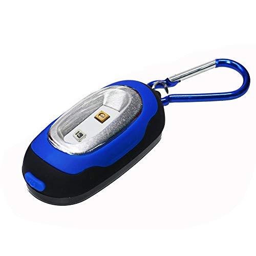 Szseven Smartphone-Desinfektionsmittel UV-Leuchten-UVC270nm Mini-Schlüsselbund Außengepäck Ungiftige Desinfektionslampe (4 Farben)