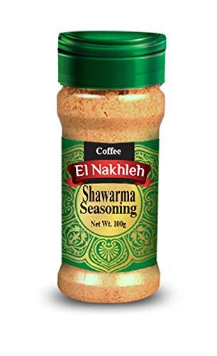 Elnakhleh Shawarma Seasoning, Israeli Taste, no GMO, no Irradiation, Spice Seasoning Powder, Seasoning Blend, Kosher, 3.5 Oz / 100 Gram