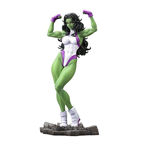 Marvel SHE Hulk BISHOUJO Statue
